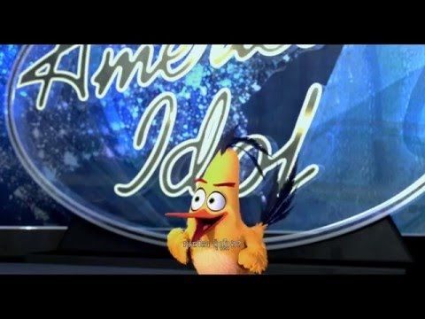 The Angry Birds Movie - American Idol - YouTube