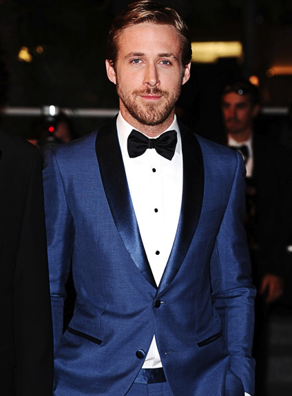 Mens fashion forecast 2017 - Ryan Gosling Navy Tux My Style Pinterest Groom Style