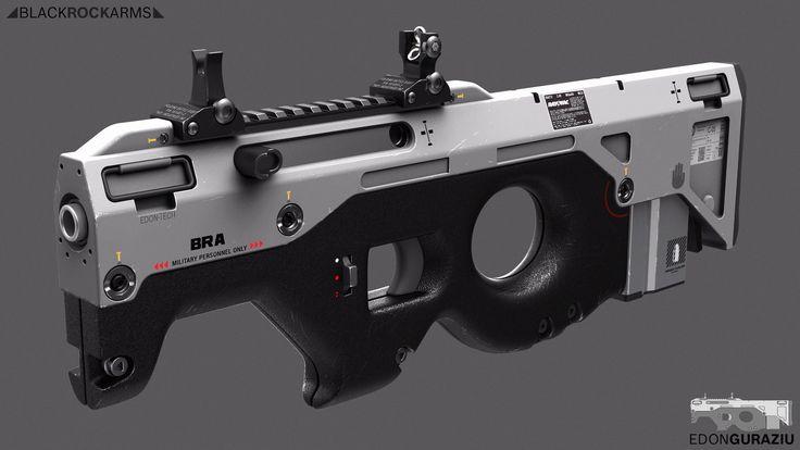 ArtStation - Compact Weapon Design , Edon Guraziu