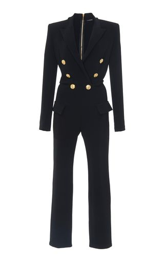 ce88d951cc4 Double Breasted Jumpsuit by Balmain