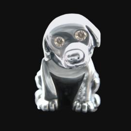 Adopteer Een Pup Bedel: Echt een snoepie aan een Pandora armband en de opbrengst gaat naar de KNGF geleidehonden