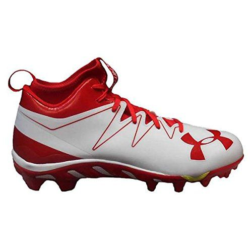 7282dec3530 Under Armour Men s Team Spine Nitro Mid MC Football Cleats (13 ...