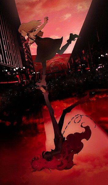 Hajime Ichinose and Berg-Katze (Gatchaman Crowds)