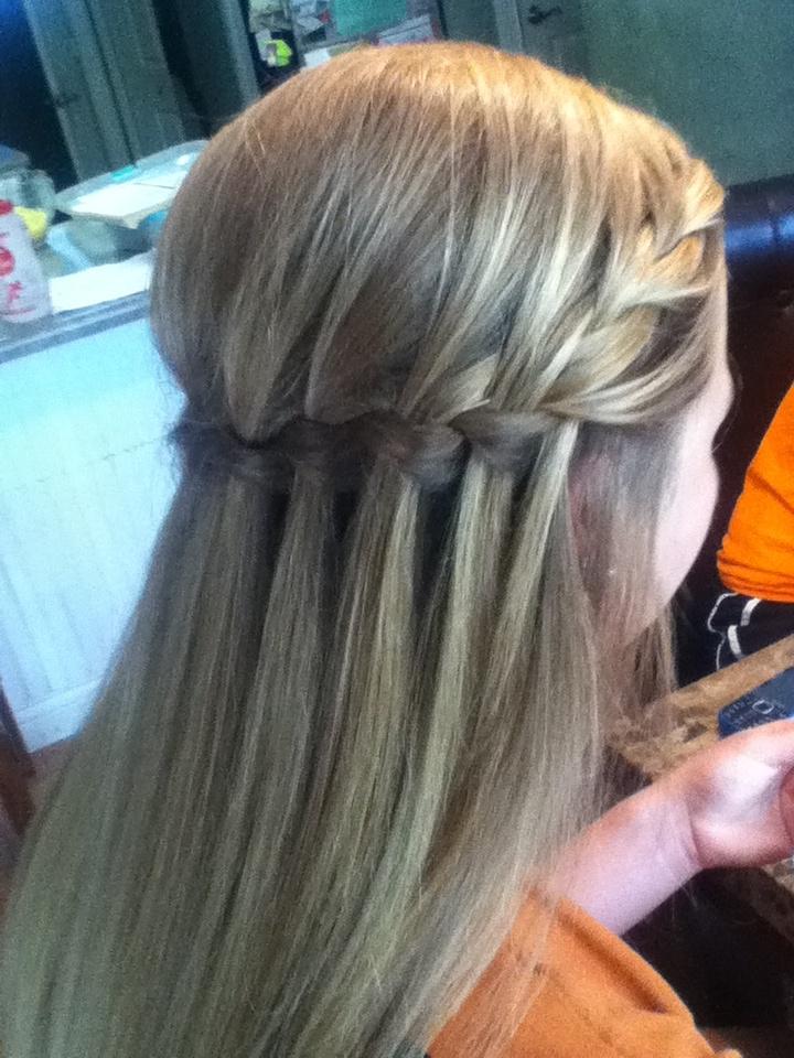 Superb Updo Waterfalls And Hair On Pinterest Short Hairstyles For Black Women Fulllsitofus