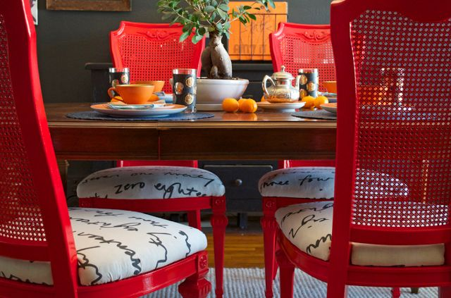 La Maison Boheme: DIY: My Dining Set Makeover on Houzz