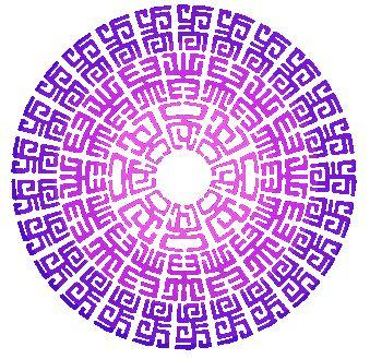 potisk, originální motiv na tričko,T-ART.CZ, ornament aztec design t-shirt
