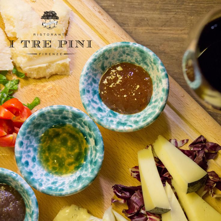 Cheese board with an authentic Tuscan twist! #Tuscany #Tuscancuisine