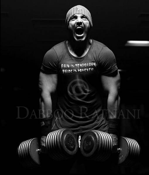 just as john abraham believes, pain is temporary, pride is forever (no pain, no gain) photography by daboo ratnani #Bollywood