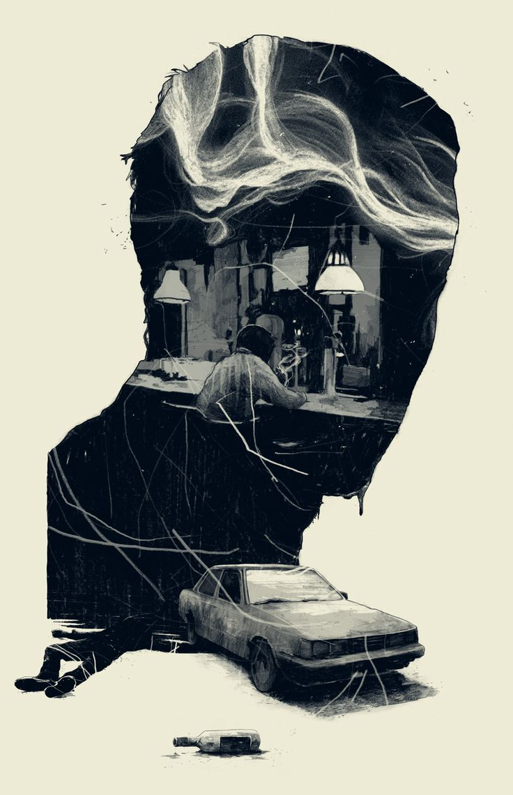 Surreal Editorial Illustrations by Simon Prades