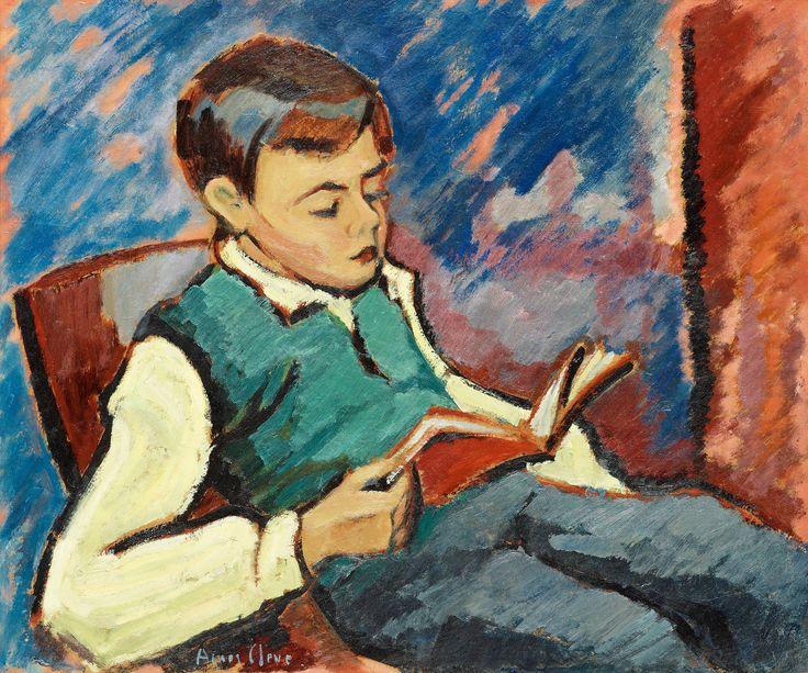 Agnes Cleve - Reading Boy