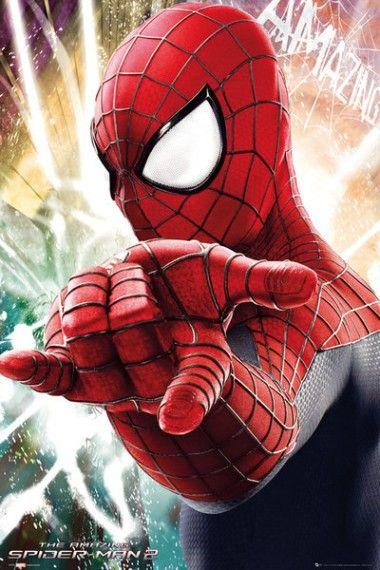 Niesamowity Spiderman 2 Cel - plakat