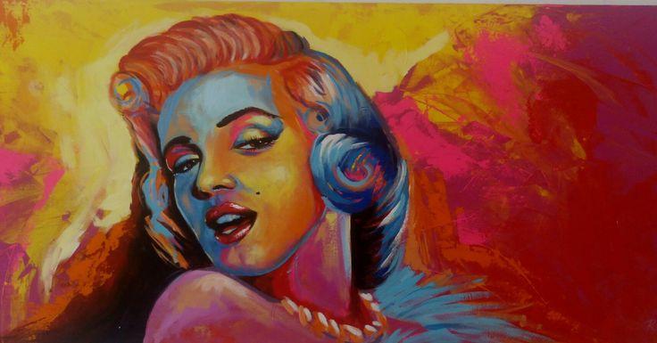 #Art #Acrylic #Painting #Marilynmonroe #RojasA