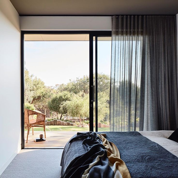 """12 Likes, 2 Comments - Bryant Alsop Architects (@bryant_alsop_architects) on Instagram: """"lovely to wake up with a garden view. #bryantalsop #melbournearchitects #mtmarthahouse…"""""""