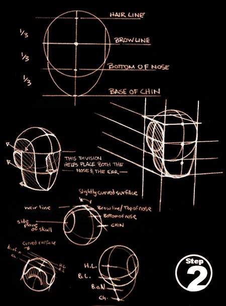 Tutorial: Constructing the Human Head on Paper, by Ron Lemen.