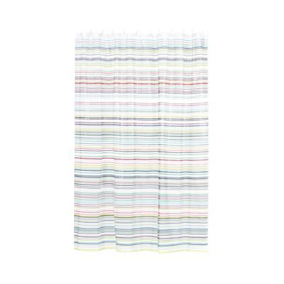 Ben de Lisi Home Multicoloured striped shower curtain | Debenhams