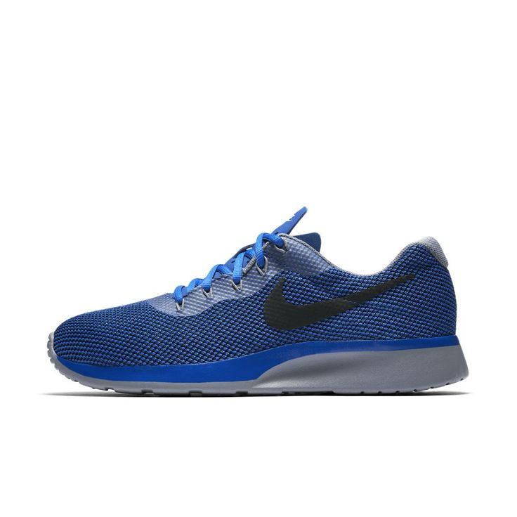 Nike Tanjun Racer Men's Shoe Size 10.5 (Blue)