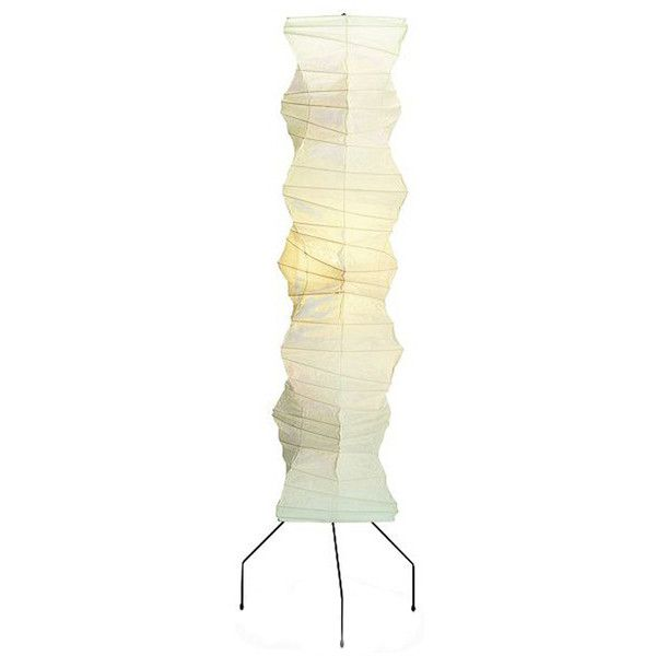 Vitra Akari UF4 33N Floor Lamp By Isamu Noguchi (4.410 BRL) ❤ Liked
