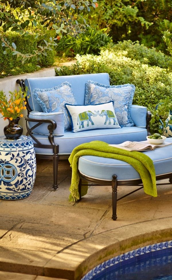 Our Carlisle Oversized Cuddle Lounge Chairu0027s Impeccable, Grandly Scaled  Cast Aluminum Frame Is Crafted