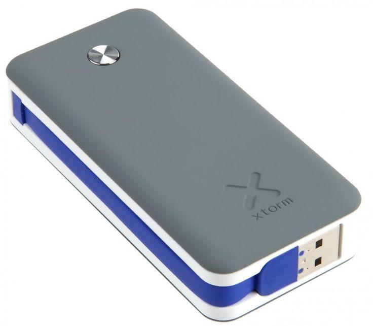 Xtorm Power Bank Air 6000mAh to najnowsza generacja szybkich powerbanków przeznaczona do telefonów komórkowych, tabletów, odtwarzaczy mp3, czytników e-booków, a także urządzeń Apple. / With an Xtorm Power Bank Air 6000mAh you can easily charge your mobile device anytime you like. With it you can charge devices like your smartphone, tablet, MP3-player or others while you're on the go. PLN169.99 / $57