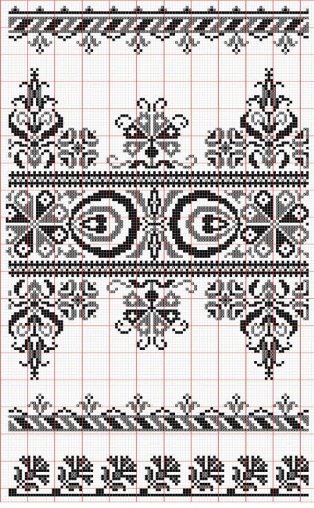 Lapas - Rokdarbu grāmatas un dažādas shēmas - Galerija - Dažādi raksti rūtiņu tehnikā - draugiem.lv