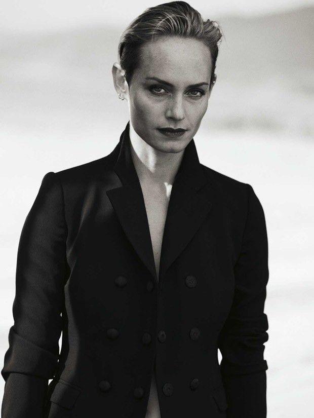 Amber Valletta for Zeit Magazine by Peter Lindbergh