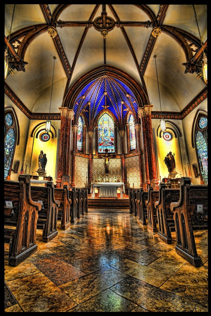 Saint Mary's Cathedral in Austin. Perfect wedding location. ❤