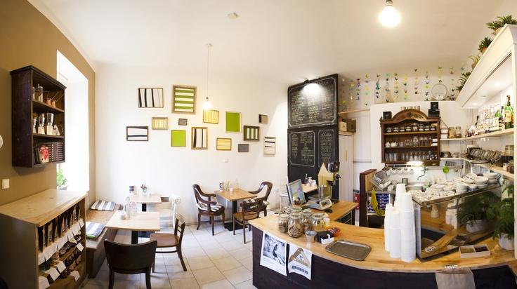 coffeeshop in Prague