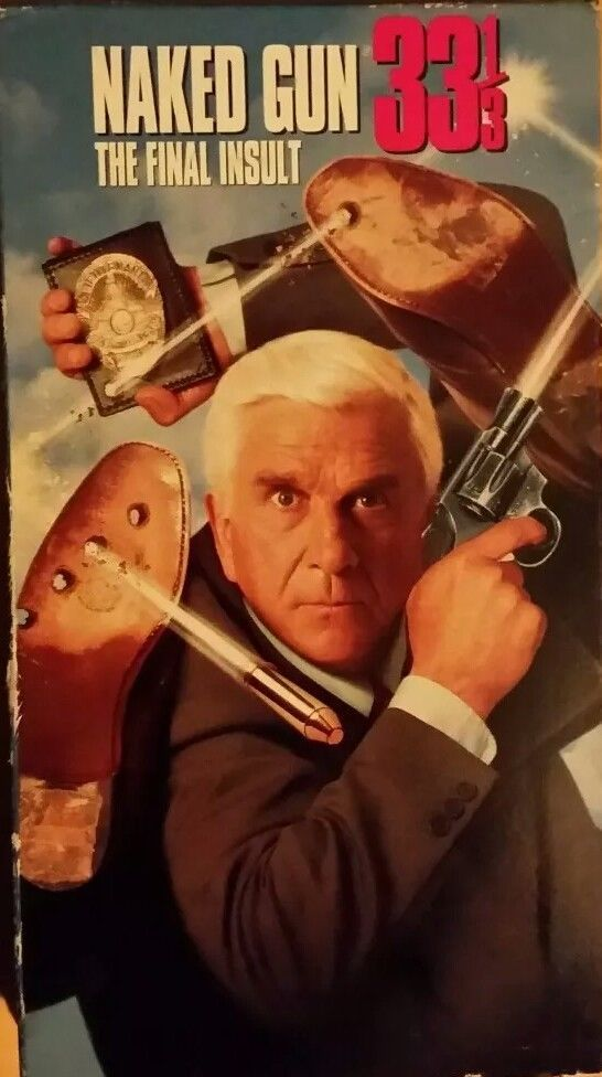 Naked Gun 33 1/3 - The Final Insult VHS (1994) ***FREE SHIPPING***