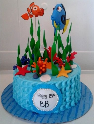 The 25 best Finding nemo cake ideas on Pinterest Nemo cake