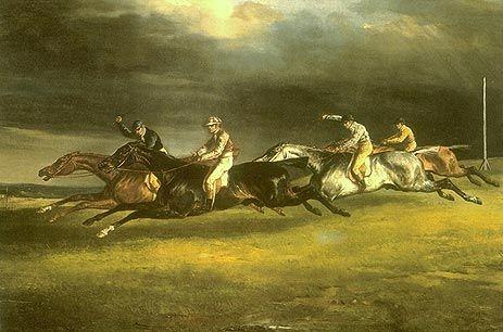 テオドール・ジェリコー (ロマン主義) エプソンの競馬