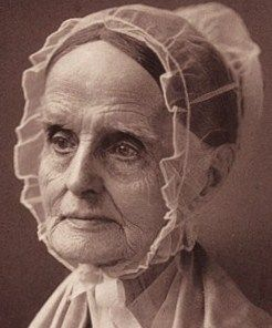 "Lucretia Coffin Mott (1793 - 1880).""..was an American Quaker, abolitionist, social reformer, and proponent of women's rights. She is said to be one of the first American feminists in the early 19th century...an early advocate for women's political power and influence in America, where women could not vote until 1920."""