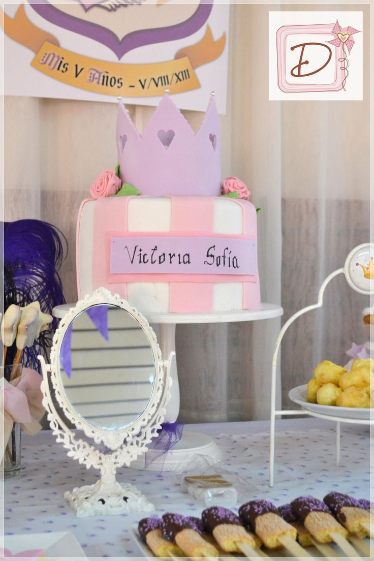 corona para una princesa #fiesta #cumpleaños #festejo #decoración #ambientación #tematización #souvenirs  #golosinas #cocina #mesadulce #torta