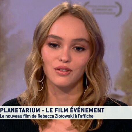 Lily-Rose Depp, Lily interview for Planetarium in Tv5Monde.