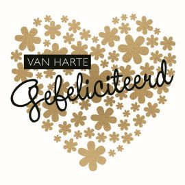 Image result for gefeliciteerd