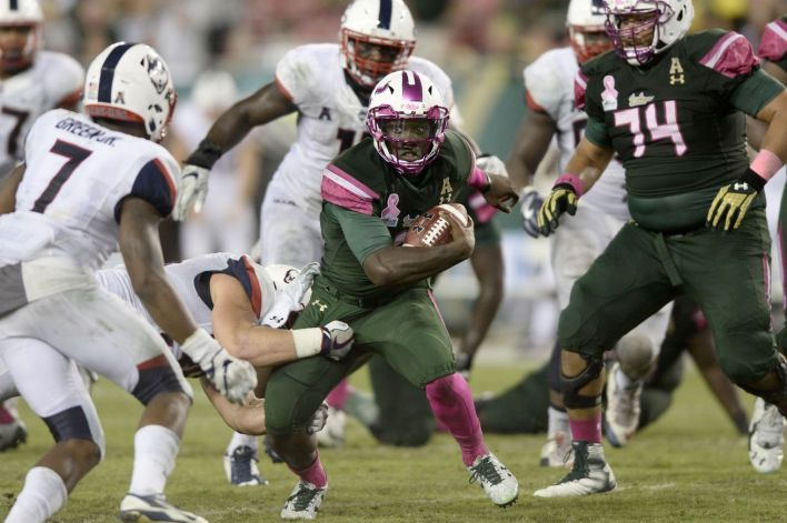USF vs. UConn will not be played Saturday as scheduled due to Hurricane Irma