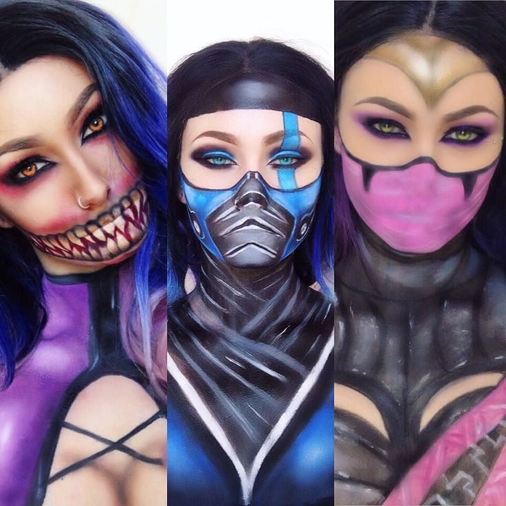 #Squad  Mortal Kombat looks that I've done so far.. I aim to do a lot of the…