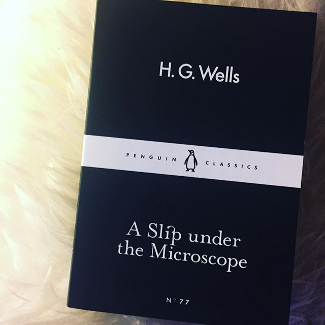 48/52 - A book by an author I love but have not yet read. I should have read this a long time ago. I need to get my hands on some more H.G. Wells he is brilliant.