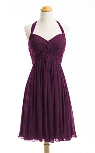 WeiYin Women's Halter Short Party Dress Bridesmaid Dresses Plum US 2 WeiYin http://www.amazon.com/dp/B0144A2MJS/ref=cm_sw_r_pi_dp_oEBxwb03JE5BZ