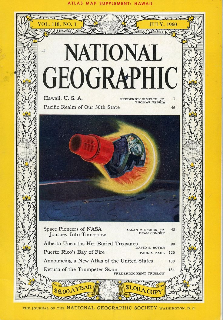 National geographic 1960 July