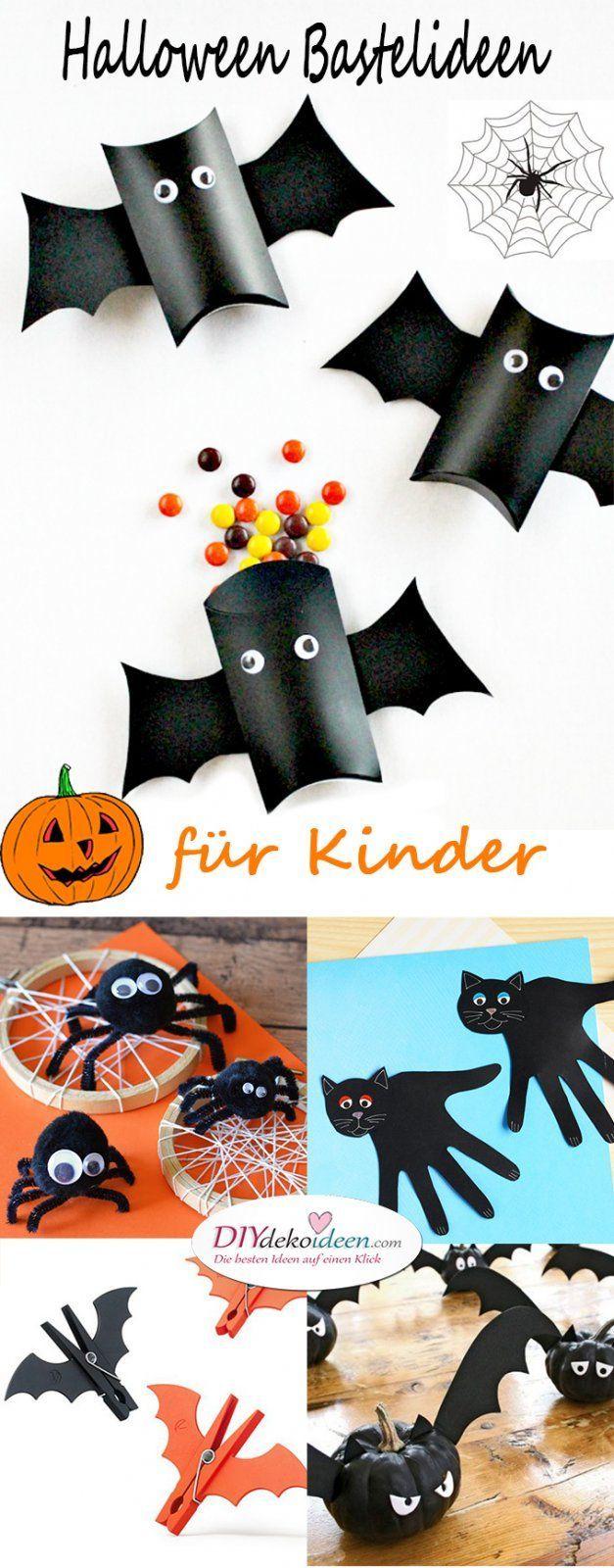 Halloween Bastelideen für Kinder – DIY Bastelideen für die ganze Familie