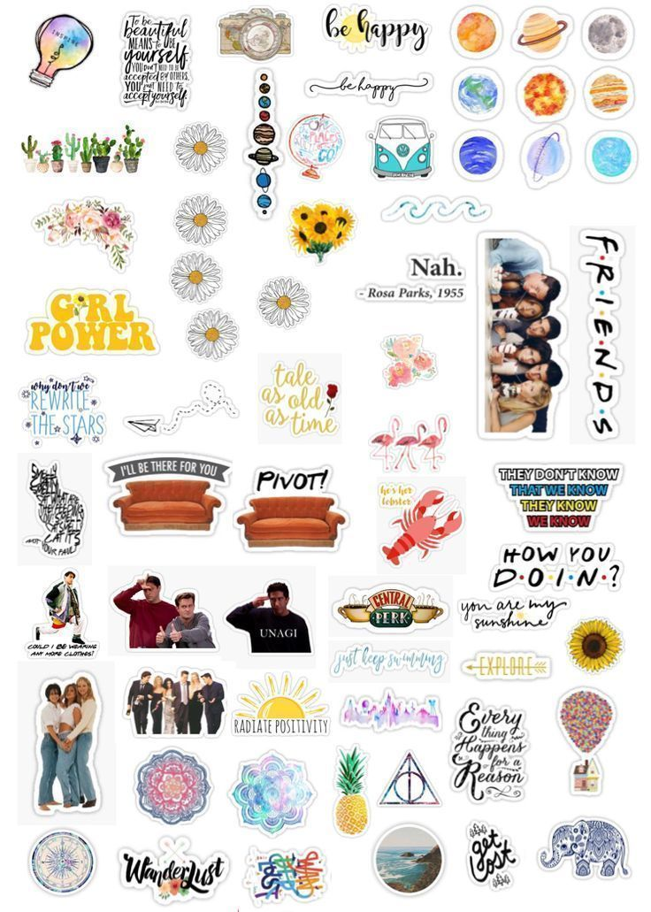 Phone Case Stickers With Images Aesthetic Stickers Iphone