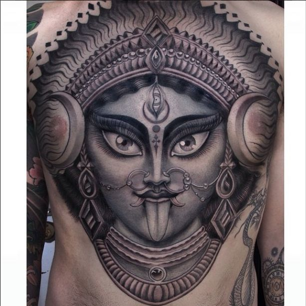 17 best images about kali tattoos on pinterest temple for Maroon 5 tattoos hindu