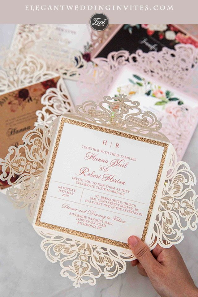 Affordable Wedding Invitations With Response Cards At Elegant Wedding Invite In 2020 Affordable Wedding Invitations Wedding Invitations Inexpensive Wedding Invitations