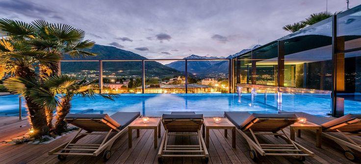 eines der besten Wellnesshotels in Italien. Wellnesshotel  Hotel Therme Meran