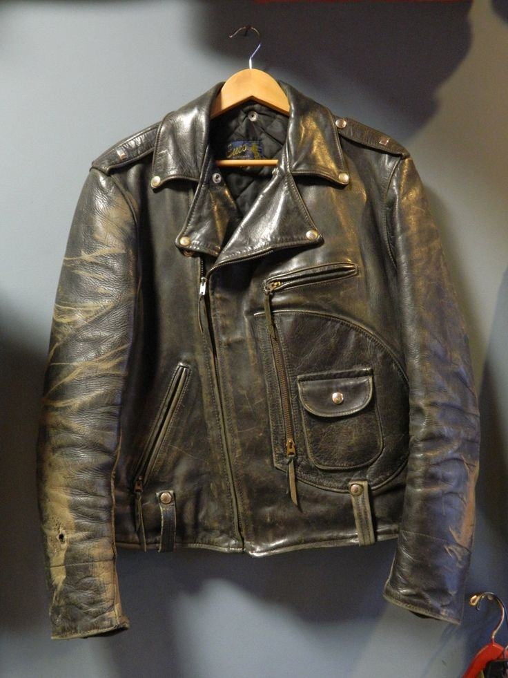 38 best Leather images on Pinterest | Leather jackets, Brother and ...