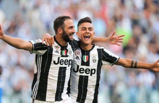 Higuain brace helped Juve extends lead over Roma & Napoli - Footballinall.com