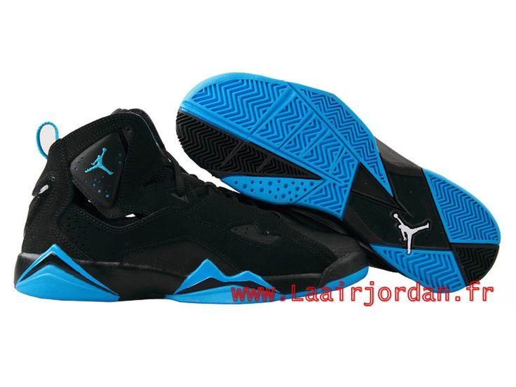 320217372864fd ... Air Jordan True Flight AJ7 Chaussures Jordan Officiel Site Pour Homme POWDER  BLUE 343795-007 ...