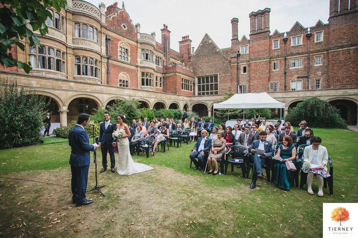 Sidney Sussex College Wedding, Cambridge - Sabrina & Payam - Tierney Photography