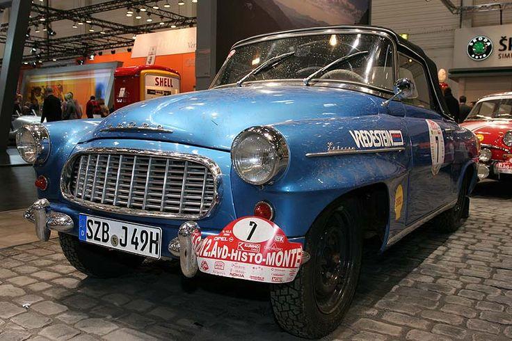 Skoda Felicia, Bauzeit: 1959-1964, 4-Zylinder-Motor mit 50 PS