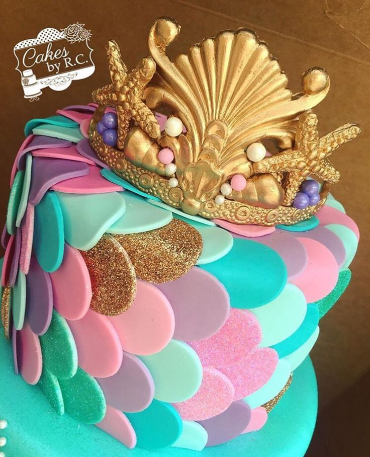 This Mermaid cake is UNBELIEVABLE!